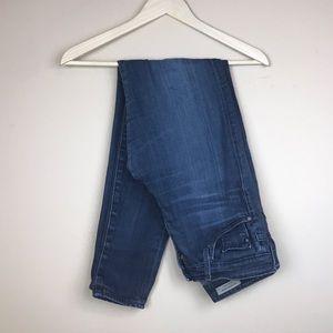 AG | High Rise Skinny Jeans